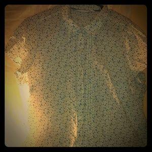 ST.John's bay button up women's blouse